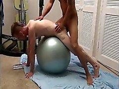 Interracial Sex on Swedish ball