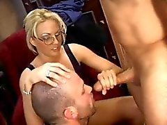 Wife Likes Husband Sucking Cock
