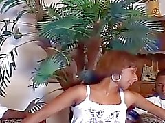 Black fucking bisexual threesome anal and pussy pounding