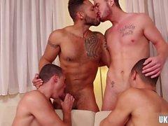 hot gay flip flop and cumshot clip segment 1