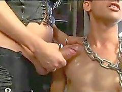 CD Ties Her Man And Uses Him For A Fuck Toy