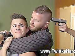 Gay porn Andy Taylor, Ryker Madison, and Ian Levine were 3 lil' hustlers