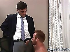 Sexy muscle man hunk gets sucked off