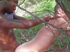 interracial bareback big black cock