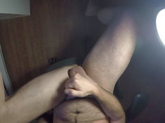 Hairy Uncut Foreskin Play and Cum