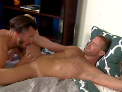 Big Dick Latino Shows Boyfriend How Much He Missed Him