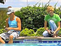 Gay XXX Gorgeous twinks Camden Christianson and Kaiden Ertel