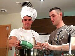 In The Kitchen, Backstage With Trystan Bull and Johan