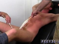 Gay boy toe sucking Connor Maguire Jerked & Tickle d