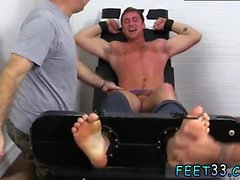 Gay porno oral feet xxx Connor Maguire Tickled Naked